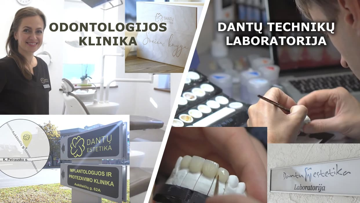 Video apie kliniką